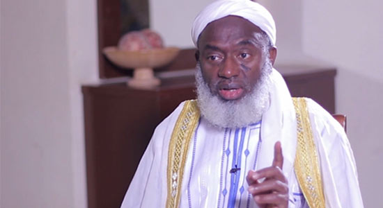 I Will Lock Aso Rock If My Child Is Kidnapped - Sheikh Gumi