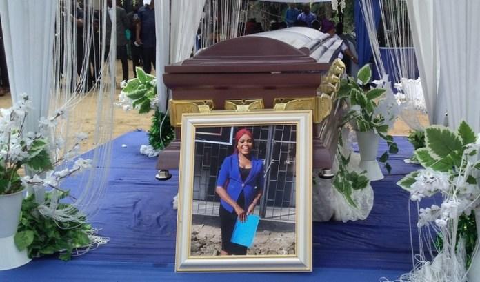 Killed Akwa Ibom Jobseeker, Iniobong Umoren Buried (PHOTOS)