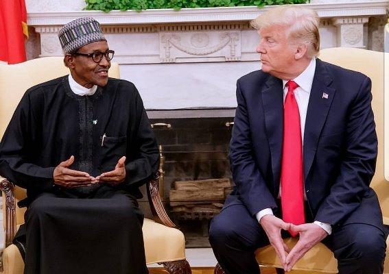 Former President Trump Praises Buhari For Banning Twitter