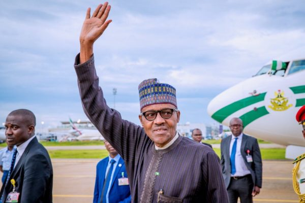 Buhari Sets Out To London For Medical Checks And Summit