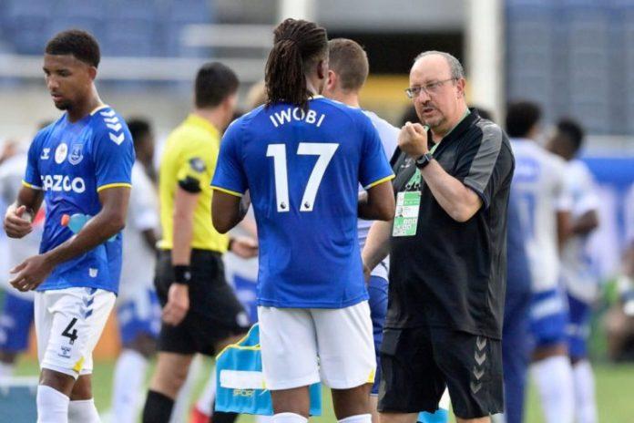 Everton 3-1 Southampton: Iwobi Gives Assist In PL Opener