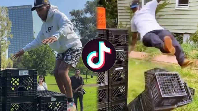 Crate Challenge Banned On TikTok