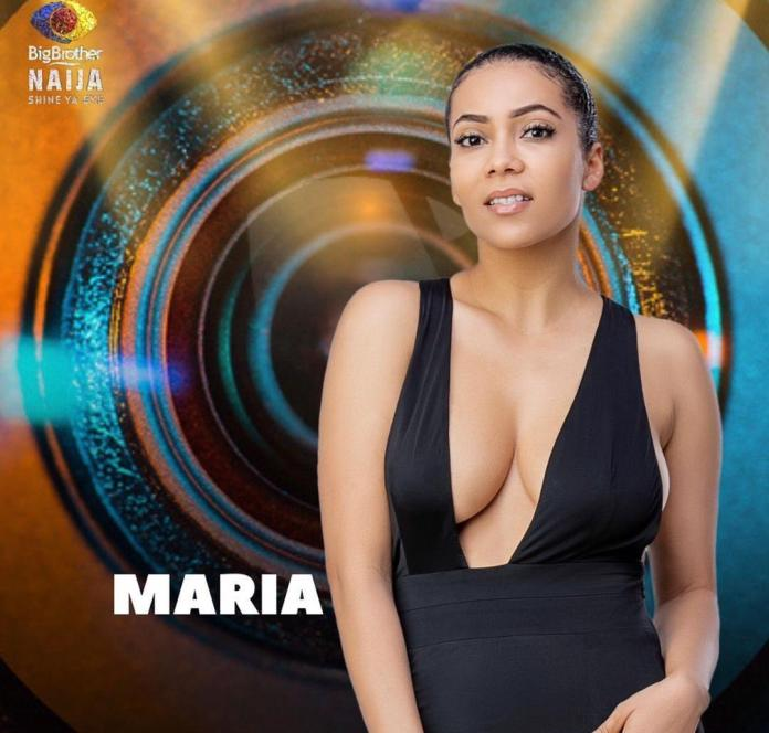 Maria Has Been Evicted From The Big Brother House