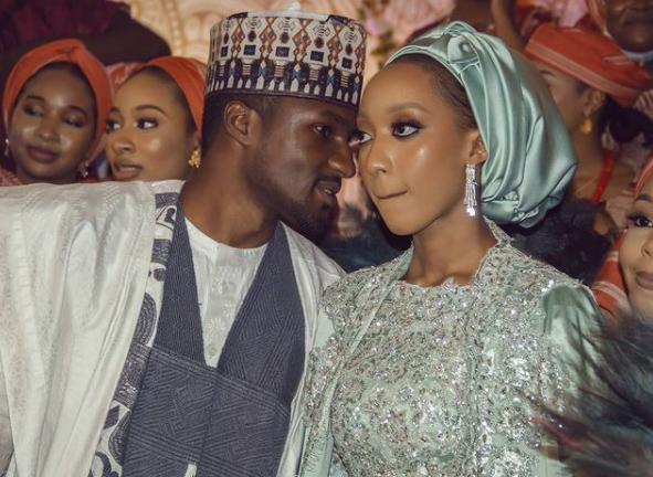 First Photos From The Wedding Dinner Of President Buhari's Son, Yusuf