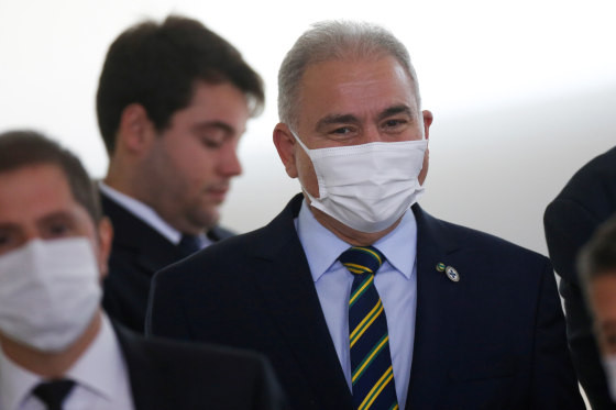 Brazil's Health Minister Tests Positive For Coronavirus At UN General Assembly