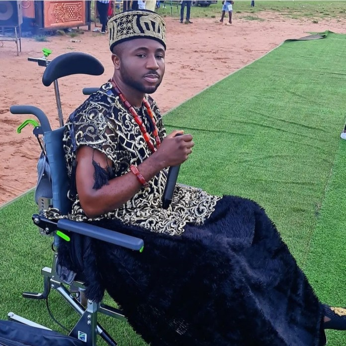 Gospel Singer Gozie Okeke Performs In A Wheelchair After Suffering A Series Of Health Problems