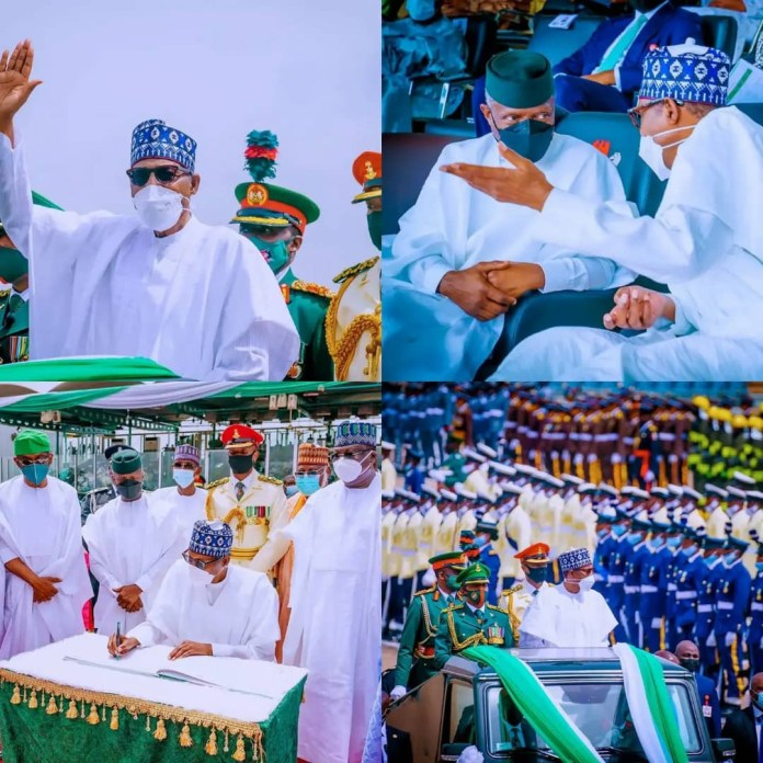 61st Independence Anniversary Ceremony In Abuja