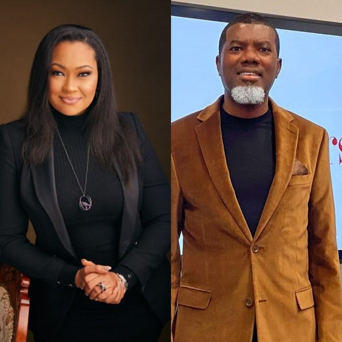 Natasha Akpoti Accuses Reno Omokri Of Making Advances At Her Despite His Marital Status; He Responds