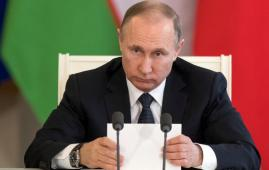 Vladimir Putin says