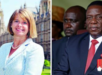 President Mnangagwa meets UK Minister for Africa