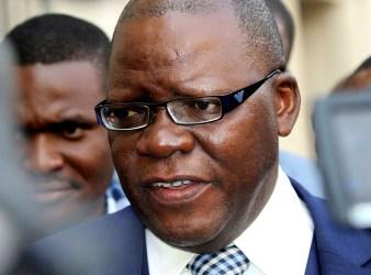 Zimbabwe former Finance Minister Tendai Biti