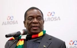 Zimbabwe's president Emmerson Mnangagwa. (File photo) Image: Reuters/Maxim Shemetov