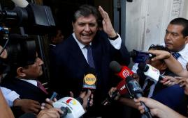 Former President of Peru shoots himself after Judiciary orders his arrest