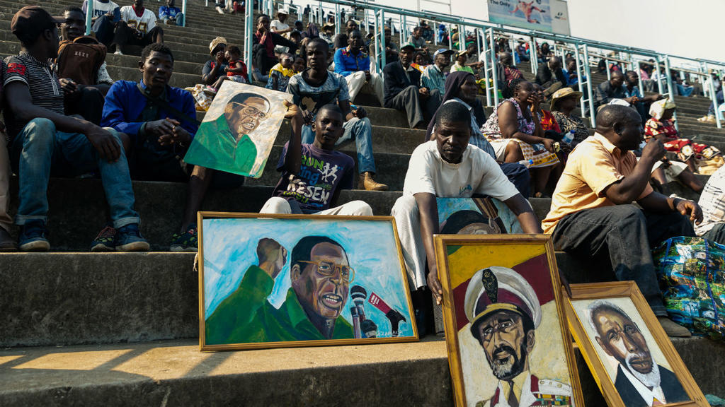 Foreign leaders, supporters bid farewell to Zimbabwe's Robert Mugabe