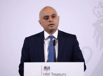 The Chancellor Sajid Javid