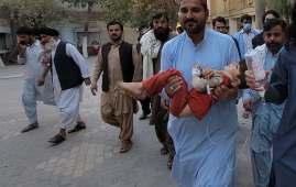 strong earthquake hit Pakistan