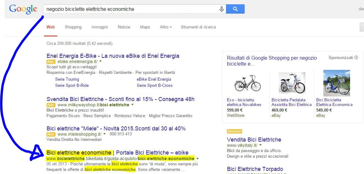 Esempi_Search_not_provided - Essere trovati su Google