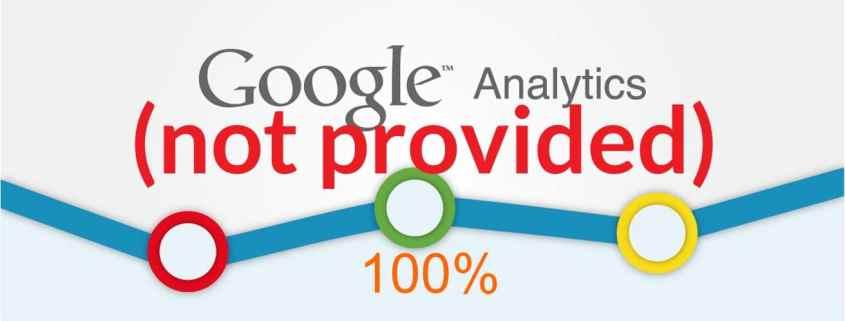 Google Analytics raggiunge il 100% di not provided