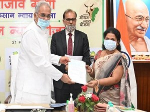 Help provided: Chhattisgarh IAS Association raised Rs 10 lakh for the son of a deceased partner