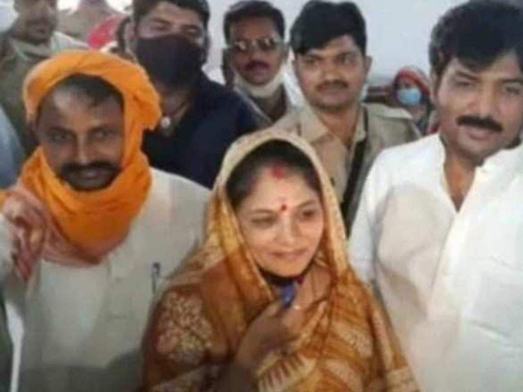 Jaunpur Panchayat Election Result: Shrikala Singh, wife of Bahubali Dhananjay Singh, won the election by a record vote.