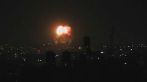 Israel Launches Airstrikes On Gaza: Army
