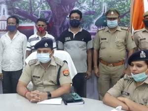 Barabanki police arrested 3 henchmen of Mukhtar Ansari