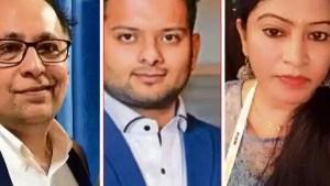 CryptoinvestorsAkashRajpal(healthcareprofessional),KanavAggarwal(formeradvocate)andPriyaRatnam(runsanITfirm).
