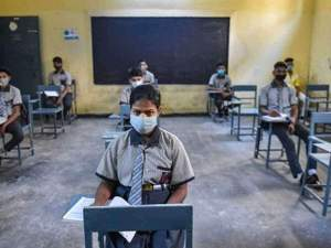 UP news: Yogi government claims - 'Operation Kayakalp' changed the picture of government schools, more than one lakh children wrote their names