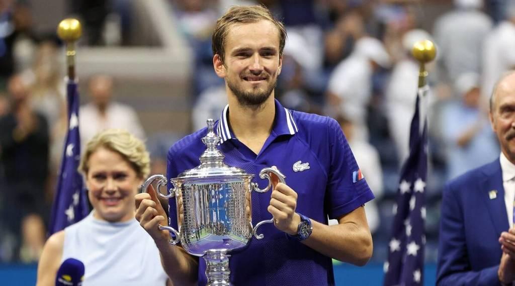 Daniil Medvedev ends Novak Djokovic's bid for calendar slam at US Open