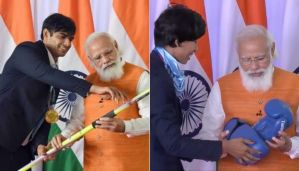 Gifts received by PM Modi to be auctioned for Namami Gange Mission, items presented by Olympic medal winners included