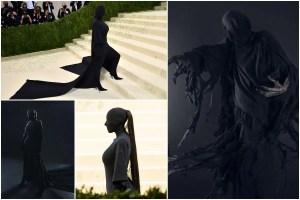 Kim Kardashian Triggers Hilarious Memes With Her Met Gala 2021 Look - Dementor or Batman?