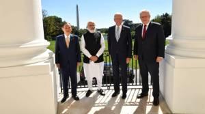 President Biden hosts first Quad leaders' summit, PM Modi attends meet