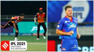 SRH vs DC: Stoinis falls away; Bhuvi puts on an almighty grump and Warner is wretched