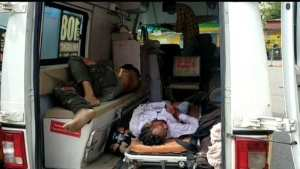 Saharanpur News: High speed tractor-trolley laden with sand hit the bike, 2 killed