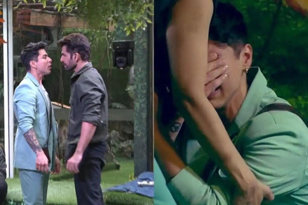 Bigg Boss 15: Pratik Breaks Down After Jay Hurls Abuses At His Mother, Says 'Meri Maa Ko Gali Mat Do Yaar'
