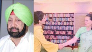 Captain Amarinder Singh shares picture of Sonia Gandhi with Aroosa Alam