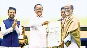 Rajini gets Dada Saheb Phalke award
