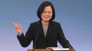 Taiwan wants 'status quo', not China's path, president says