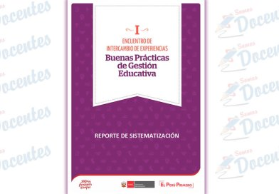 I Encuentro de Intercambio de Experiencias Buenas Prácticas de Gestión Educativa : reporte de sistematización