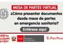 MESA DE PARTES VIRTUAL: ¿Cómo presentar documentos desde mesa de partes en emergencia sanitaria? [MINEDU]