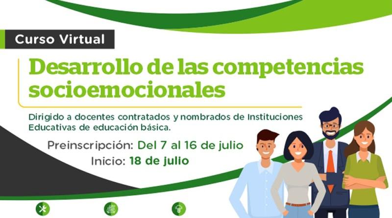 ¡MUY PRONYO! Iniciará el curso virtual «Desarrollo de competencias socioemocionales» [Preinscripciones: Del 07 al 16 de julio]