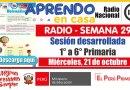 SESIÓN RADIAL DESARROLLADA (Adaptada para el estudiante) – Miércoles 21 de octubre de 2020 (Matemática) – [PRIMARIA: 1° a 6°][Descargar aquí]