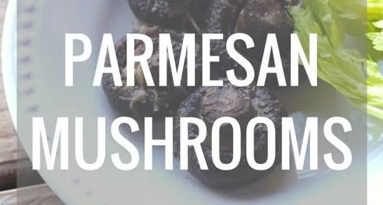 parmesan mushroom recipe
