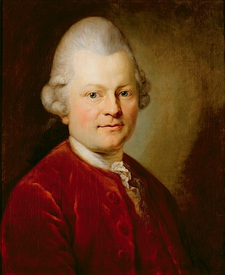 Gotthold Ephraim Lessing - (after) Anton Graf
