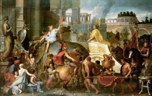 """Résultat de recherche d'images pour """"L'entrée d'Alexandre le Grand dans Babylone"""""""