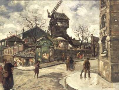 Marcel Leprin - Le Moulin de la Galette
