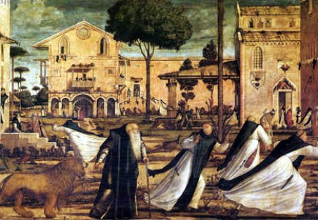 (Venise, Scuola de San Giorgio degli Schiavoni).