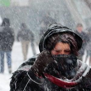 Maltempo, neve e vento sulla Toscana: in arrivo la settimana del grande gelo