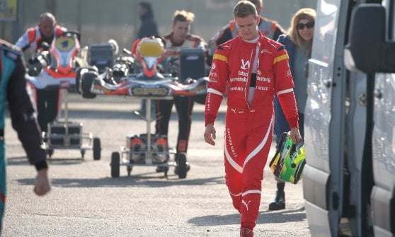 Mick sulle orme del padre Michael: Schumacher jr si allena sul circuito del Garda