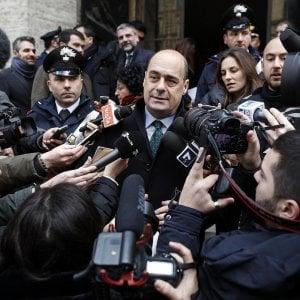 Regione Lazio, consiglio al via primo test per Zingaretti:  5S e FI litigano sui nomi